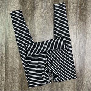 lululemon Parallel Stripe Wunder Under Pant Size 4